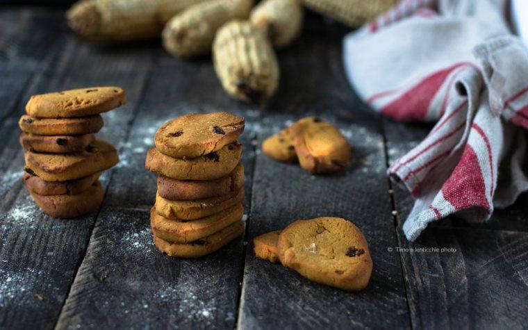 Zaleti biscotti veneti con uvetta e farina di mais