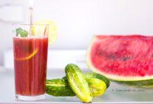 Estratto anguria lime e cetriolo