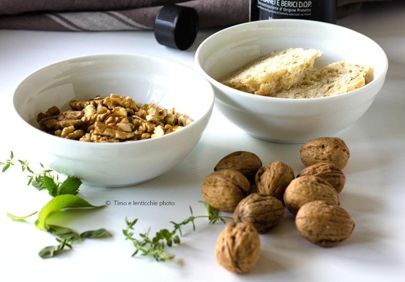 Salsa di noci senza lattosio ricetta vegetale 3