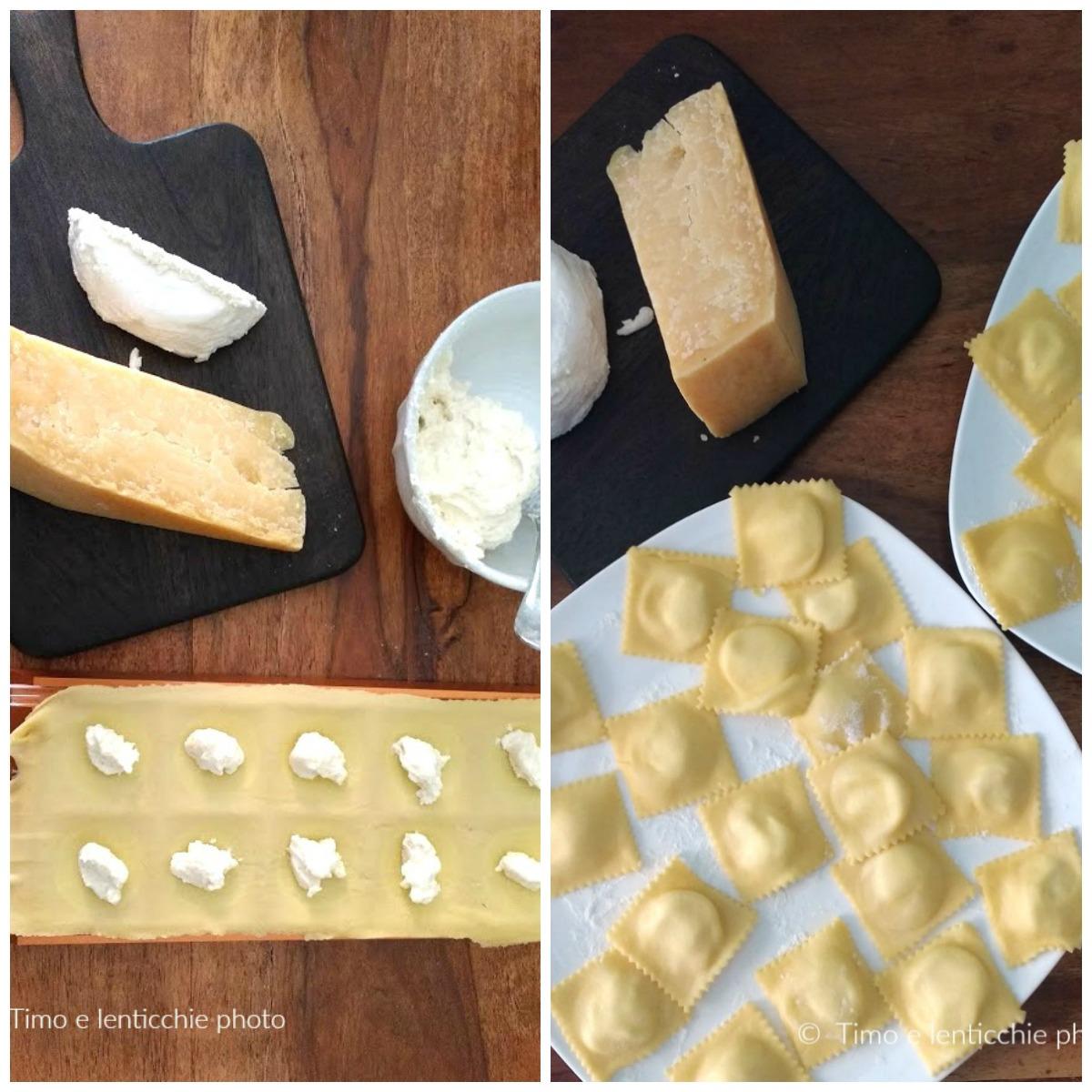 Ravioli ripieni al Vezzena di malga su crema di rapa 4