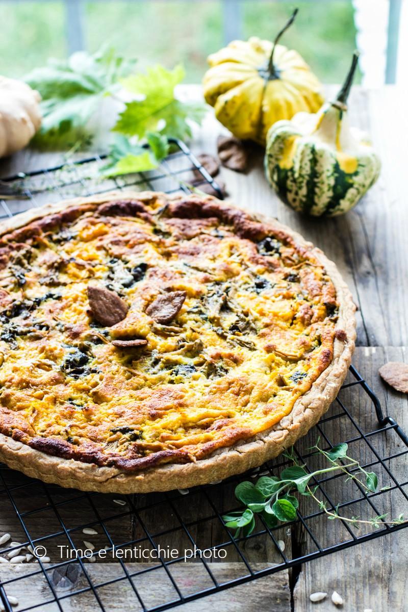 Brisé d'autunno cantarelli, zucca e formaggi del Piave 8