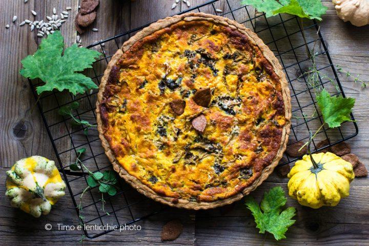 Brisé d'autunno cantarelli, zucca e formaggi del Piave 1