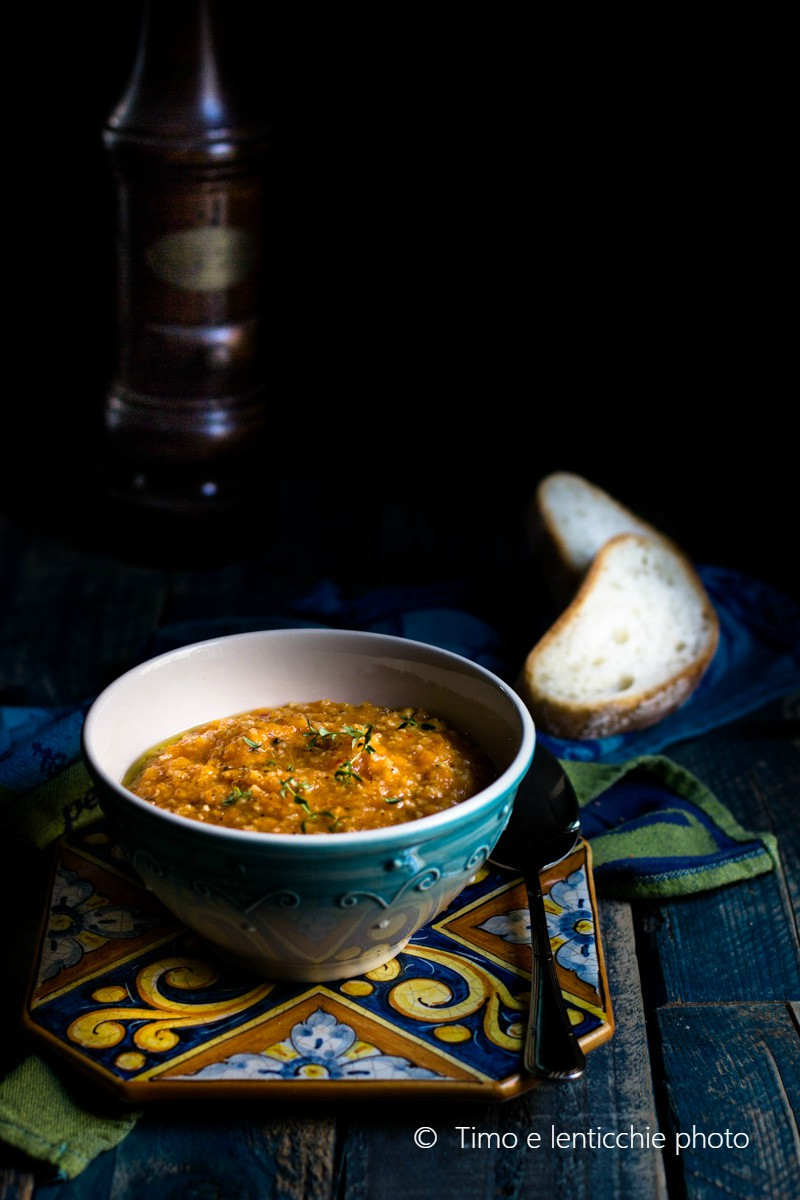 Zuppa di miglio e lenticchie spezzate alle verdure 2