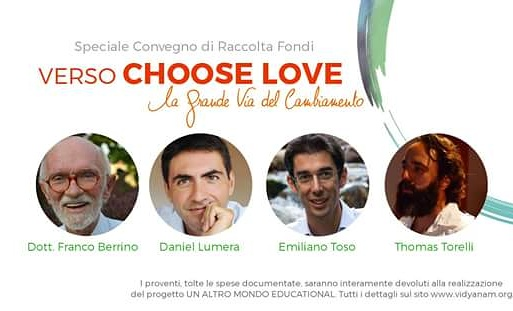 Verso choose love con Berrino, Torelli, Lumera e Toso