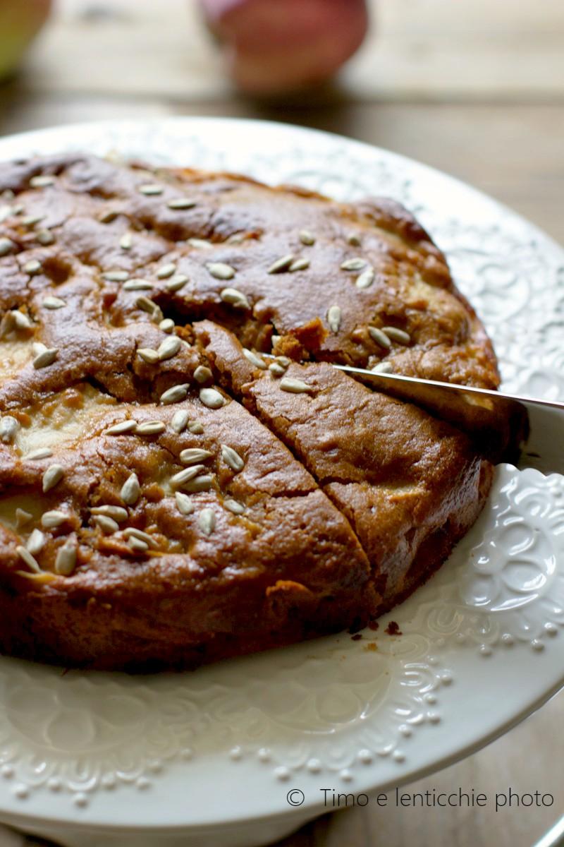 Torta di mele semplice golosa veg 4