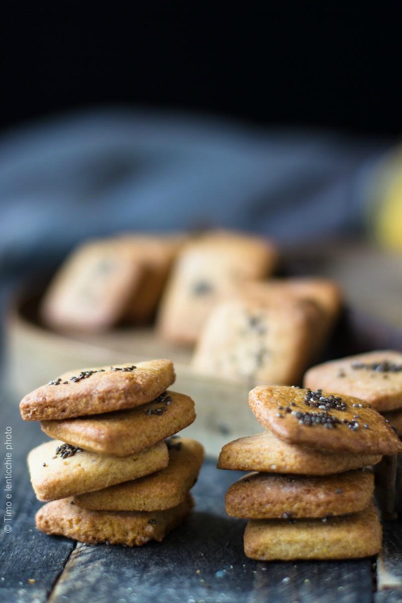 Biscotti farina gialla e chia ricetta semplice 1