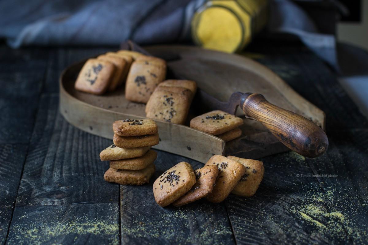 Biscotti farina gialla e chia ricetta semplice 2