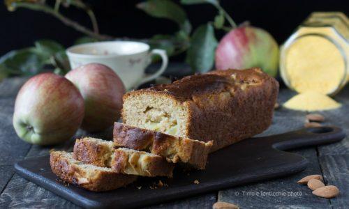 Plumcake della nonna con farina di mais e mela