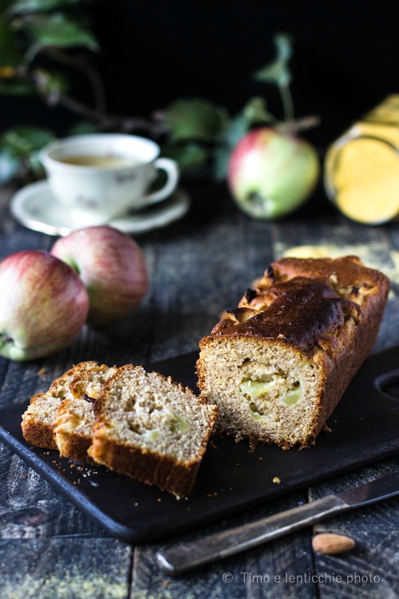 Plumcake della nonna con farina di mais e mela 7