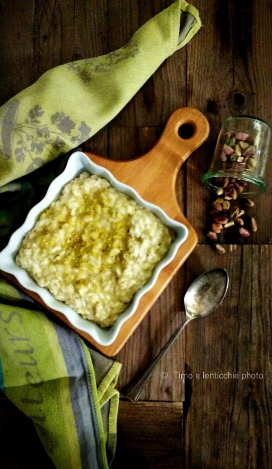 Risotto al pistacchio 1