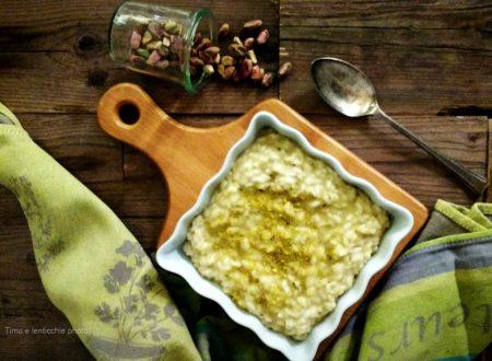 Risotto al pistacchio