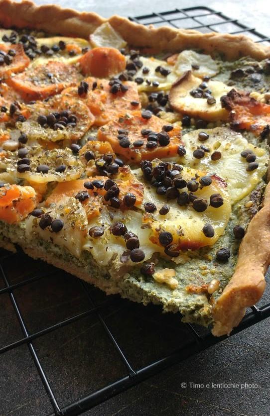 Torta salata ai tuberi d'autunno 4