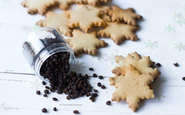Biscotti semplici al pepe timut