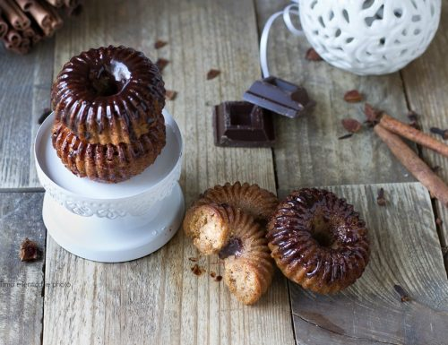 Ciambelline pan di spezie al cioccolato