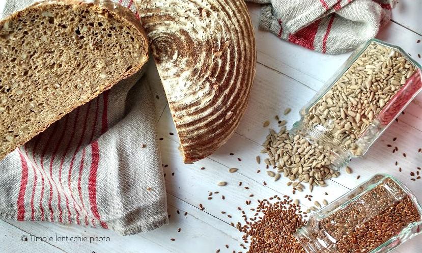 Pane al muesli con lievito madre 3