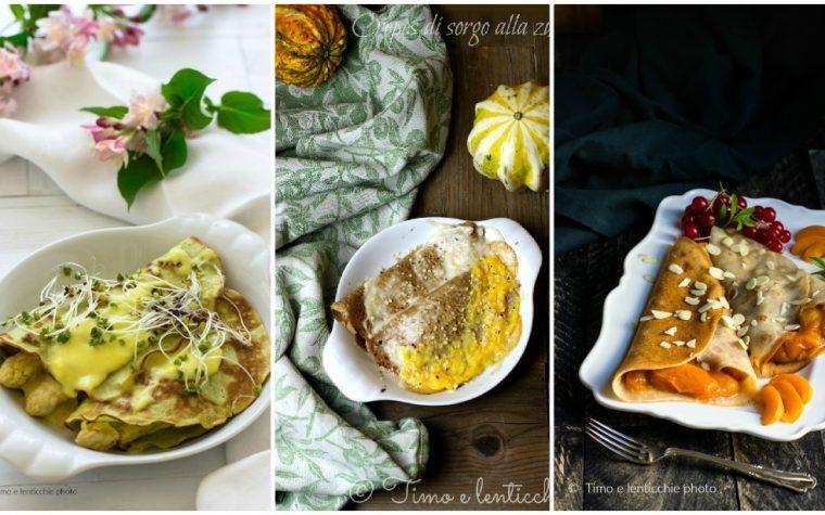Ricette crepes e crespelle salate e dolci senza uova