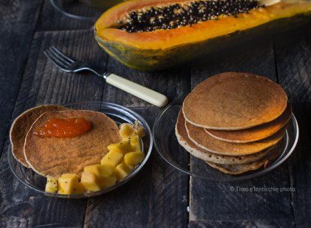 Vegan pancakes  alla papaya siciliana