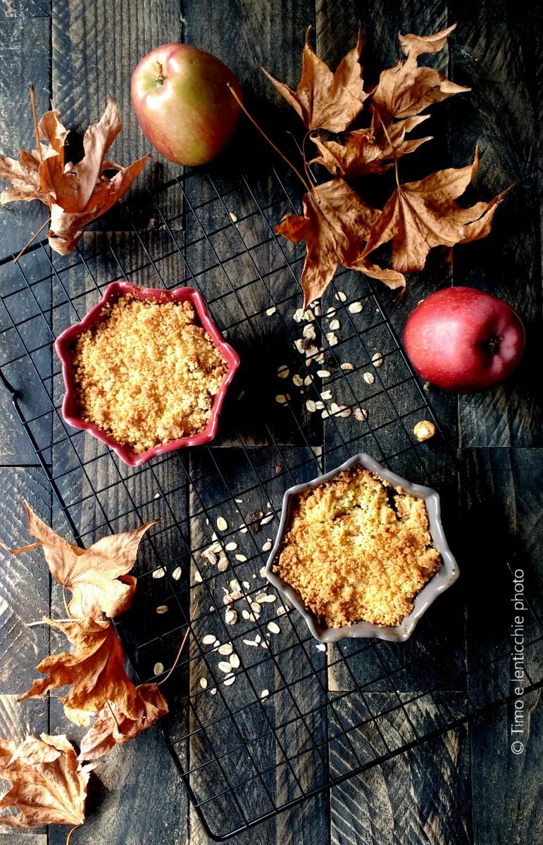 Crumble di mele - apple crumble