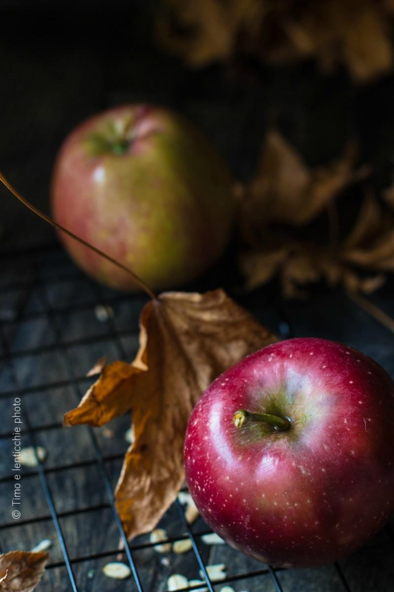 Crumble di mela - apple crumble ai fiocchi d'avena 1