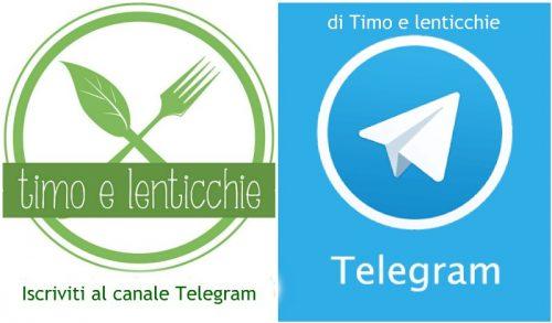 Canale Telegram di Timo e Lenticchie