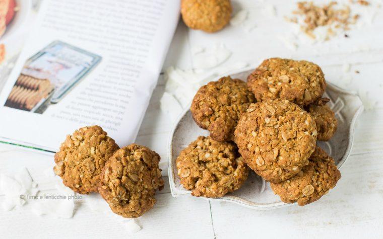 I biscotti del soldato Anzac ricetta Australiana e Neozelandese