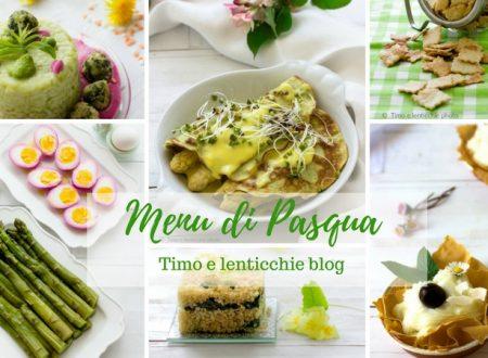 Menu di Pasqua ricette vegetariane