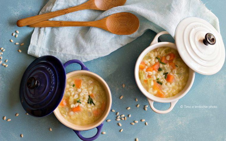 Zuppa d'orzo Panicia – ricetta ladina