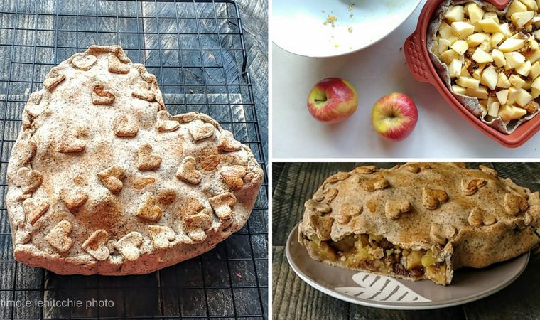 Apple pie senza zucchero - Torta di mele golosa