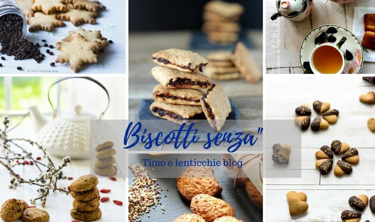 Biscotti senza burro – uova – zucchero – glutine – raccolta ricette