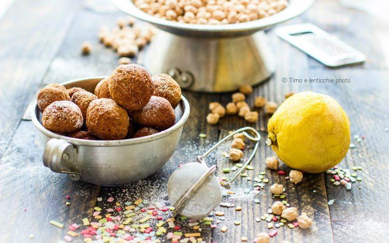 Castagnole di ceci ricetta senza glutine