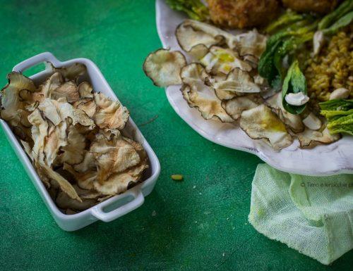 Come preparare le chips di topinambur in 7 minuti