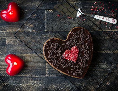 Torta al caffè cioccolato golosa romantica