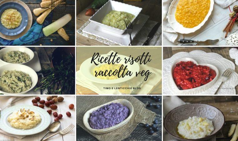 Ricette risotti veg – raccolta