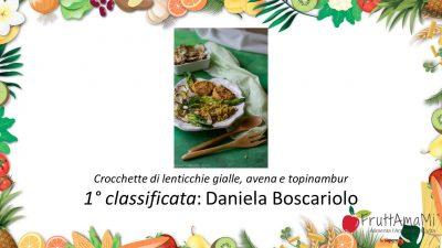 1 classificata fruttamami Daniela Boscariolo