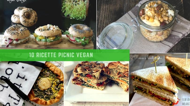 10 ricette picnic vegan di primavera