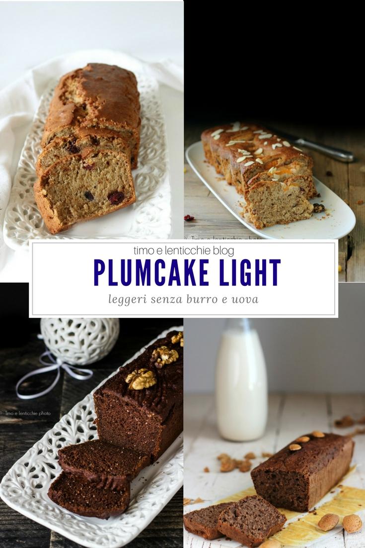 Plumcake raccolta ricette light