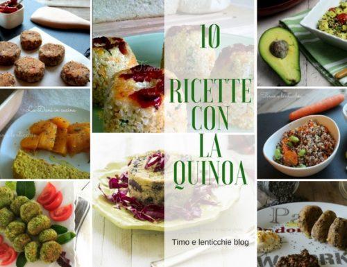 10 ricette con la quinoa da non perdere