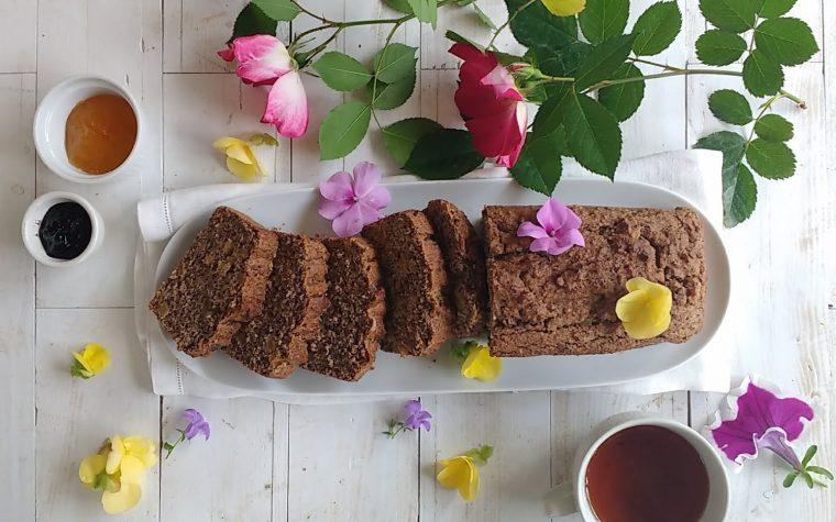 Plumcake ai semi senza glutine per #timoebasiliconelcuore