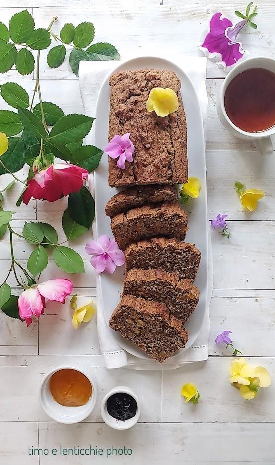 Plumcake ai semi senza glutine