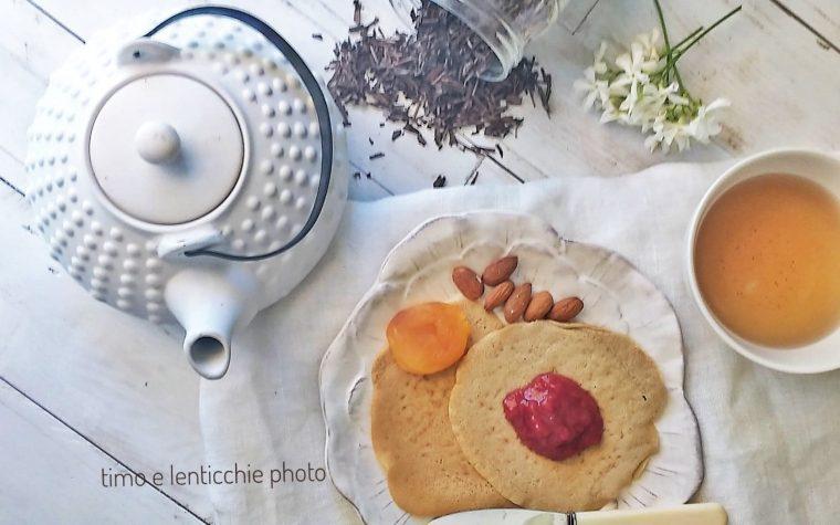 Pancakes di ceci e castagne