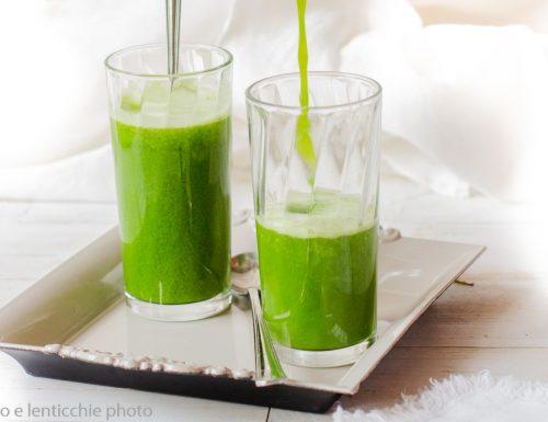 Estratto verde per il chakra del cuore