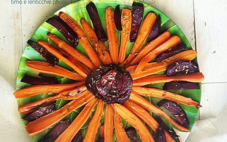 Sole di carote e rape al forno
