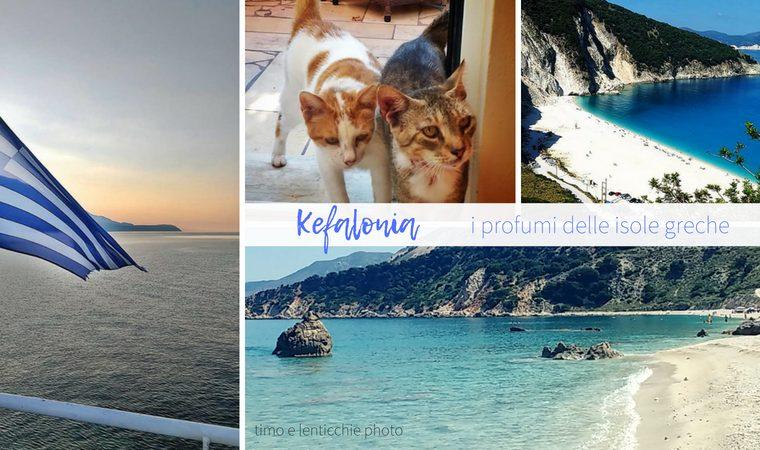 Cefalonia i profumi delle isole greche
