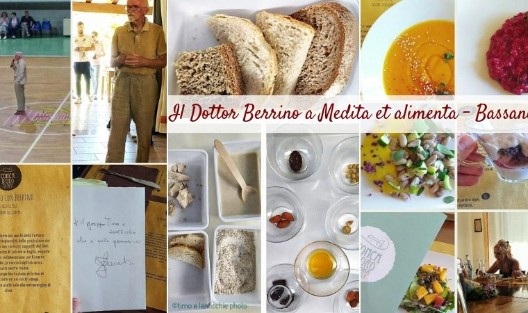 Il Dottor Berrino a medita et alimenta