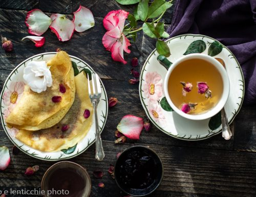 Crepes alle rose