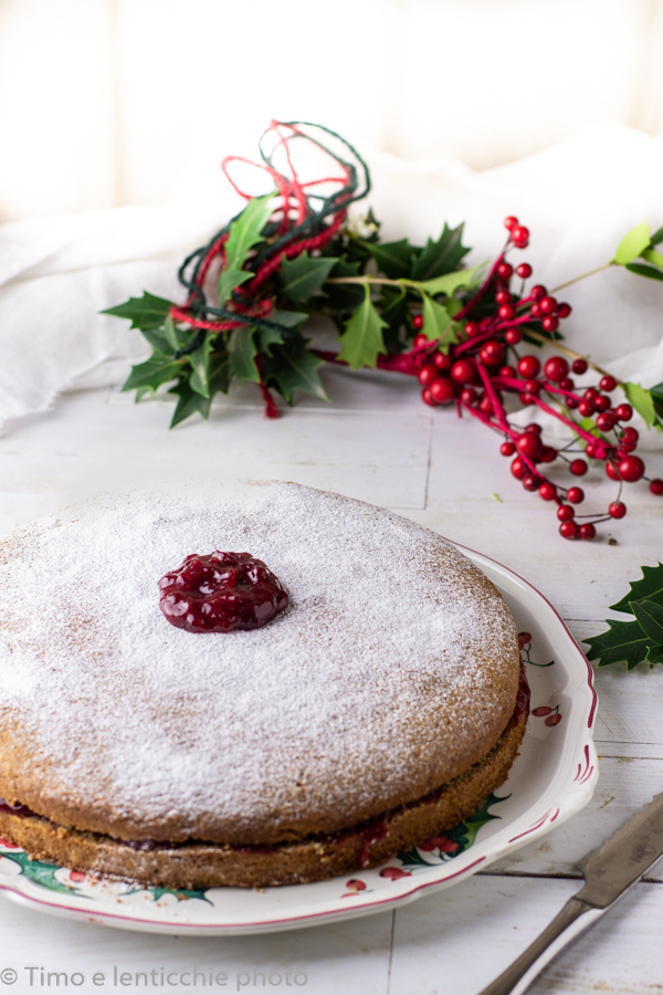 torta al grano saraceno senza glutine