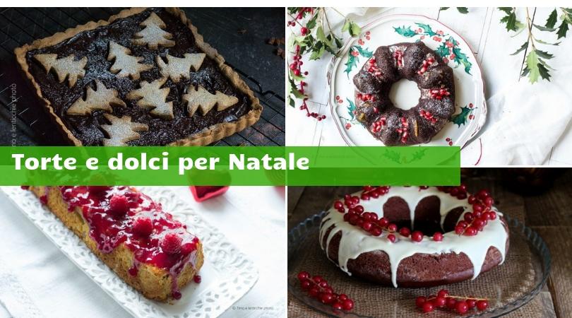 Torte e dolci per Natale