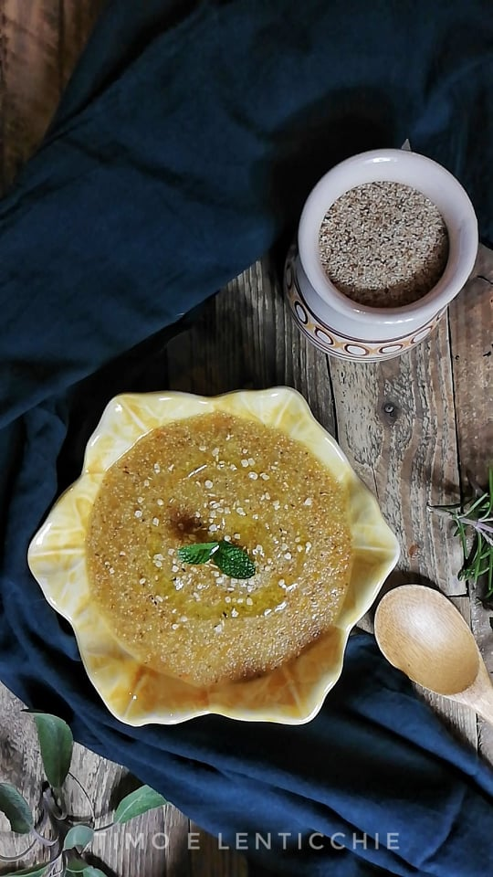 Zuppa di teff semplice e veloce