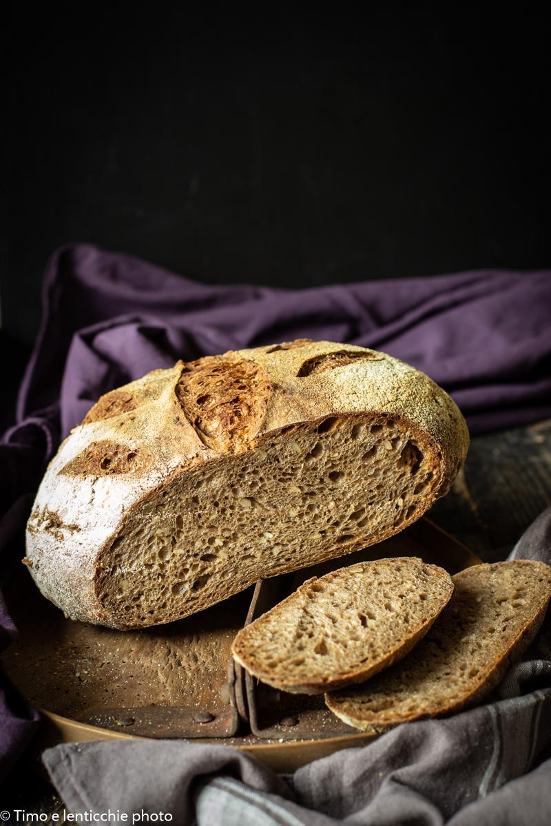 pane quotidiano con lievito madre 5