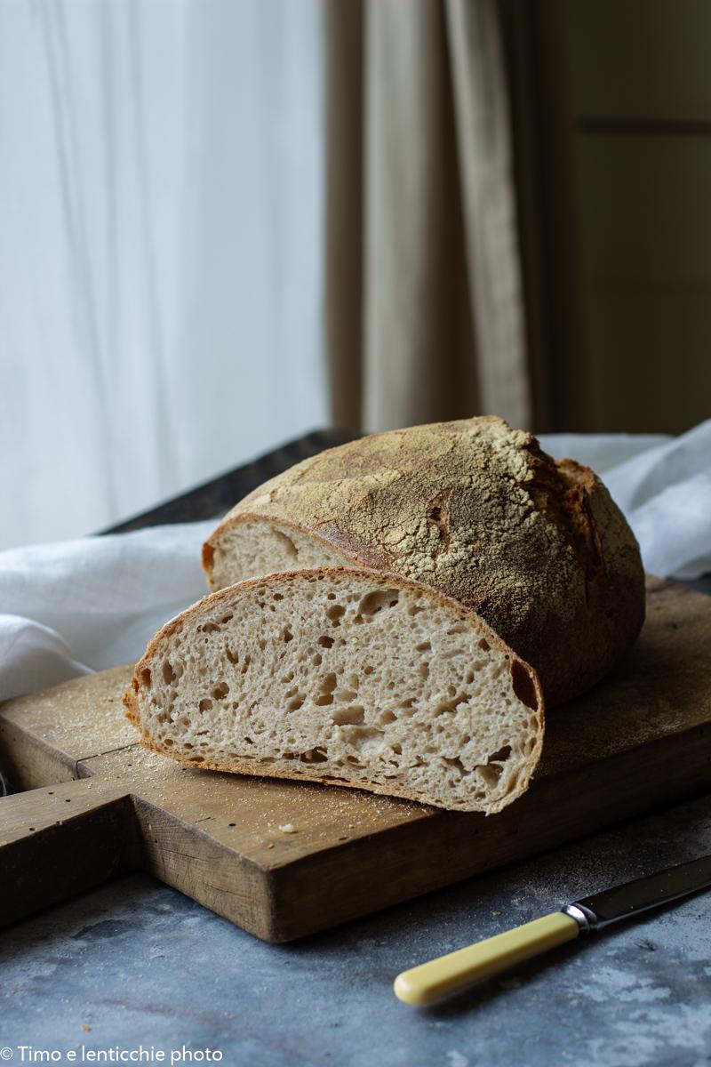 pane quotidiano con lievito madre 1